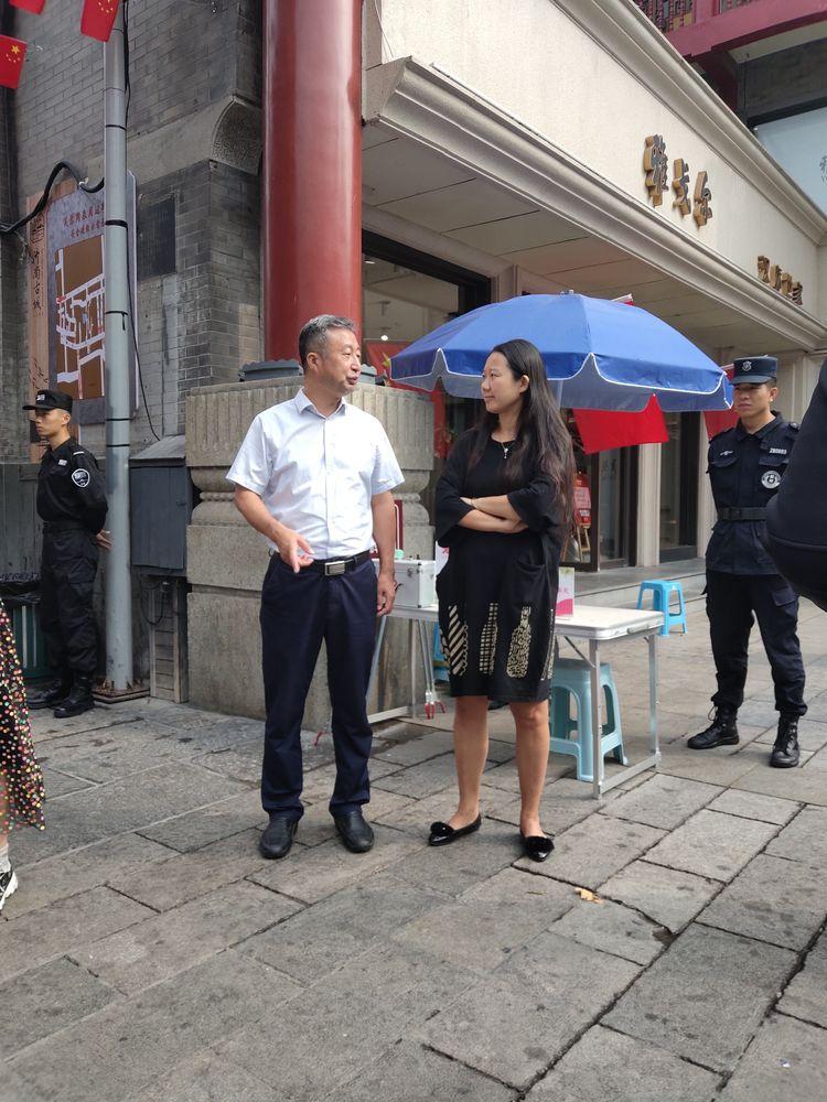 泉城路街道持续扎实做好国庆期间安全稳定工作