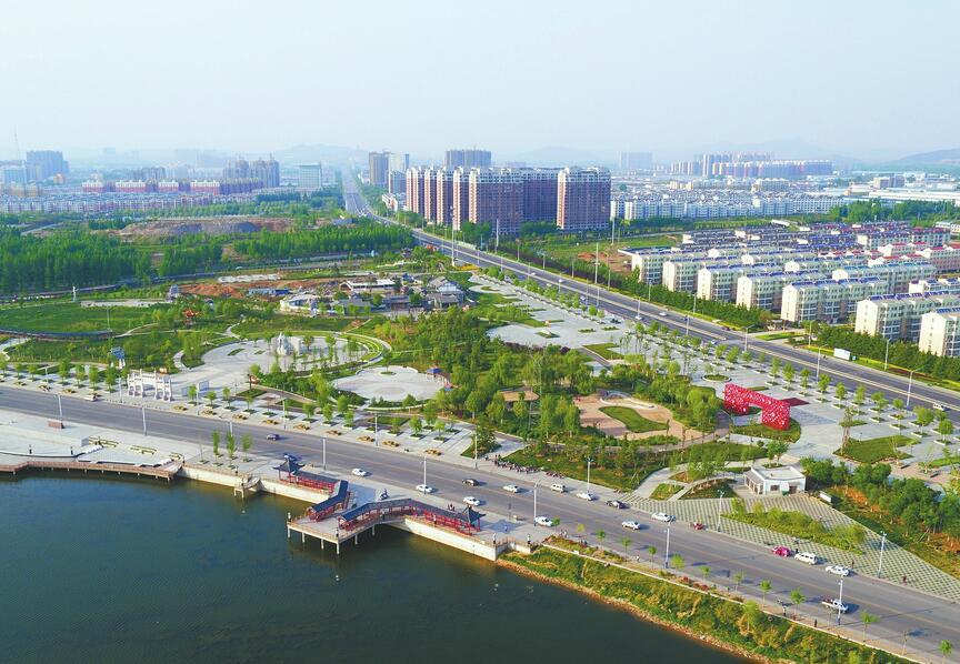 """莱芜高新区""""深入推进城市再提升行动"""" 城市面貌发生了质的提升"""