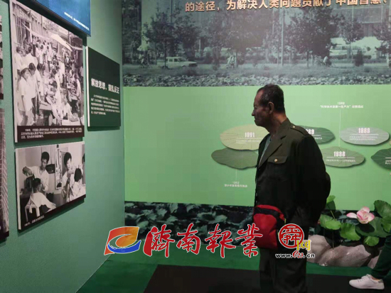 【家国同梦70年】济南70年发展成就展引泉城市民争相前往