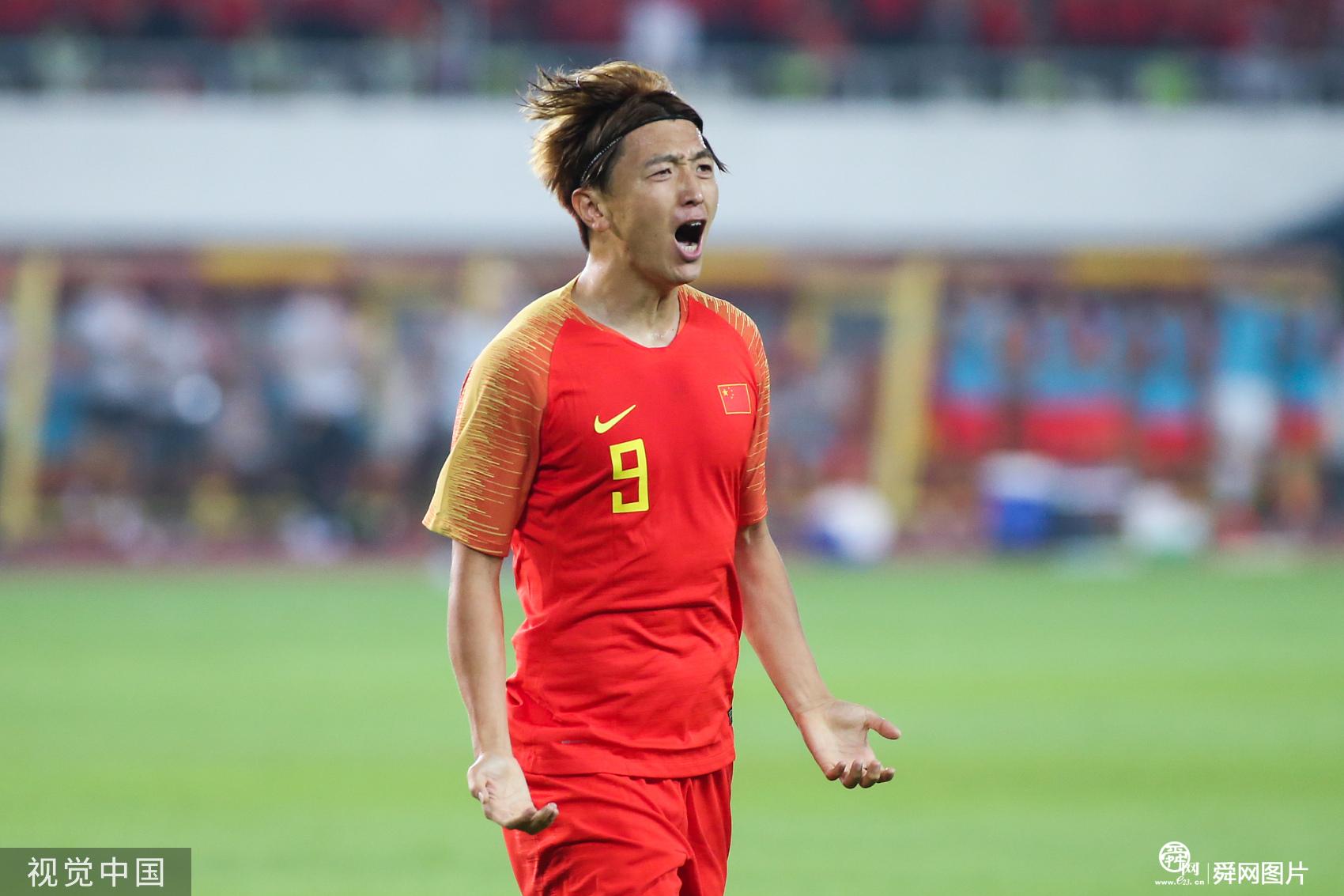小欢喜!国足7-0关岛:杨旭