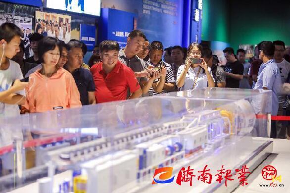 """""""济南市庆祝中华人民共和国成立70周年发展成就展""""关键词之""""共鸣"""""""