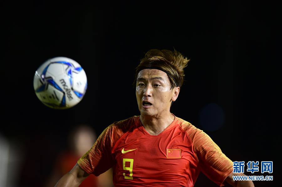 足球世预赛:中国队战平菲律宾队
