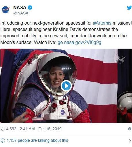 NASA公开新宇航服什么情况?NASA新宇航服做出了什么革新?