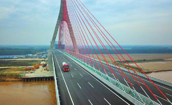 青兰高速山东段全线通车 从平阴到泰安一小时就到