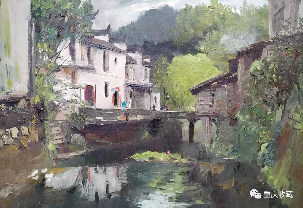 艺坛掇英---李南教授油画作品欣赏