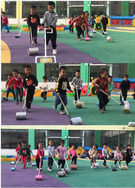 玩转健康 快乐成长——济阳区实验幼儿园玩转自制体育器械