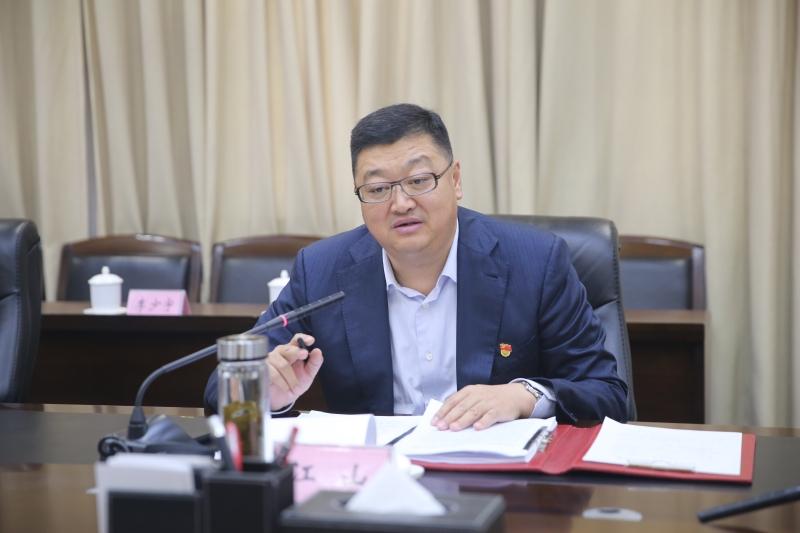 江山同志主持召开十二届区委第103次常委会会议