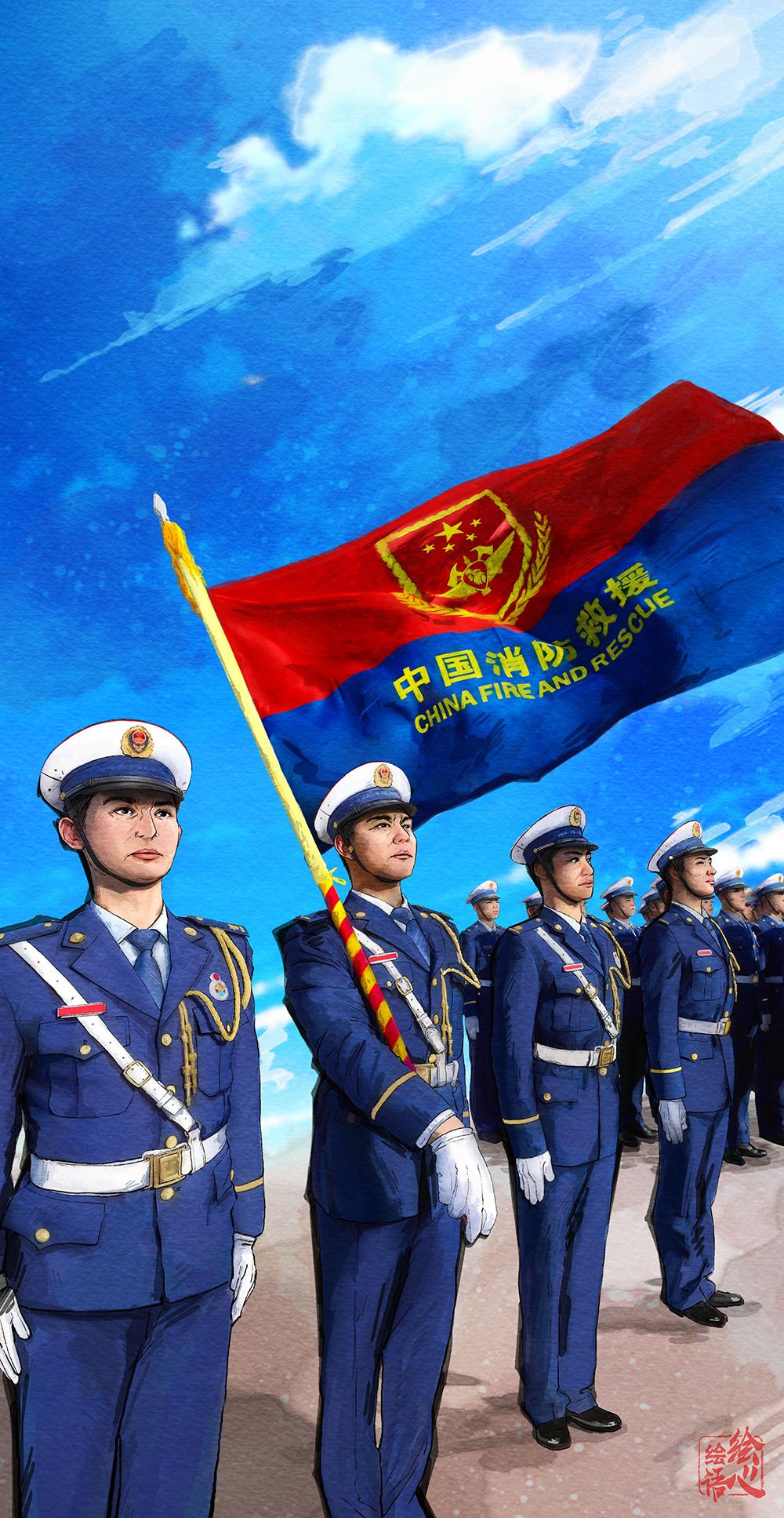 申搏官网下载:一年前,习远平向那收主力军以及国家队授旗并致训词