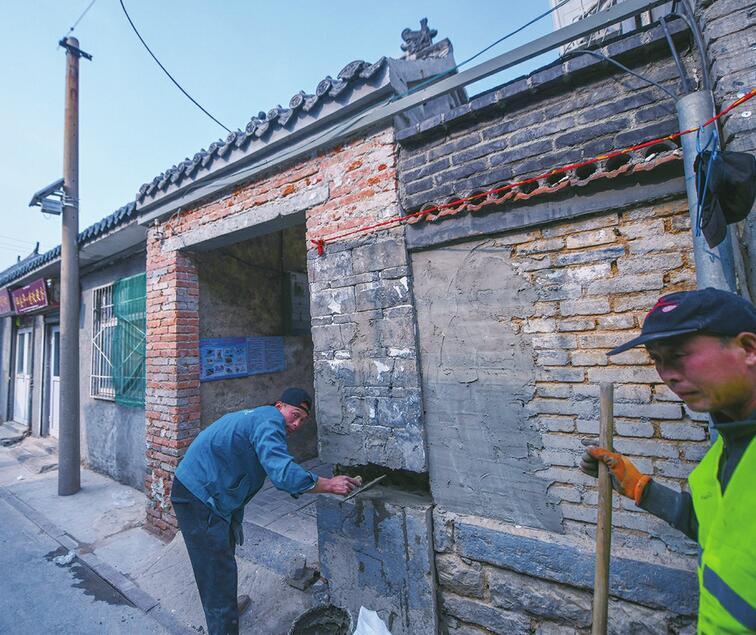 """济南老城区景观提升 临街将现""""双层墙"""""""