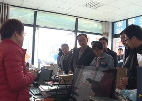 锦水街道开展遍访民企活动