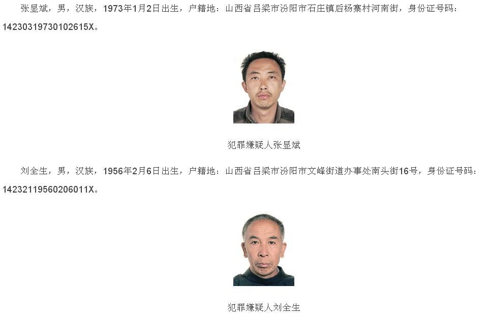 公安部通缉追犯 暗地通缉10名严重文物立功在追人员
