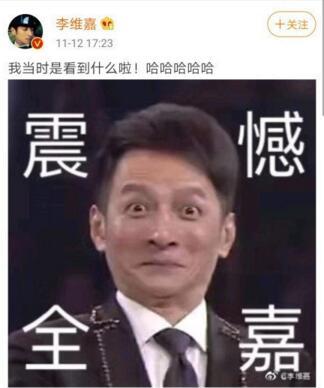 """""""震惊脸""""爆笑网友 维嘉回应表情包"""