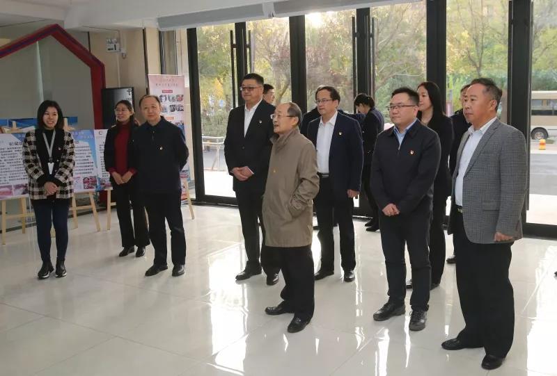 省委第一巡回指导组到历下区调研督导主题教育工作