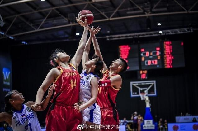 78分!中国女篮大胜菲律宾  如愿获得奥运会资格赛门票