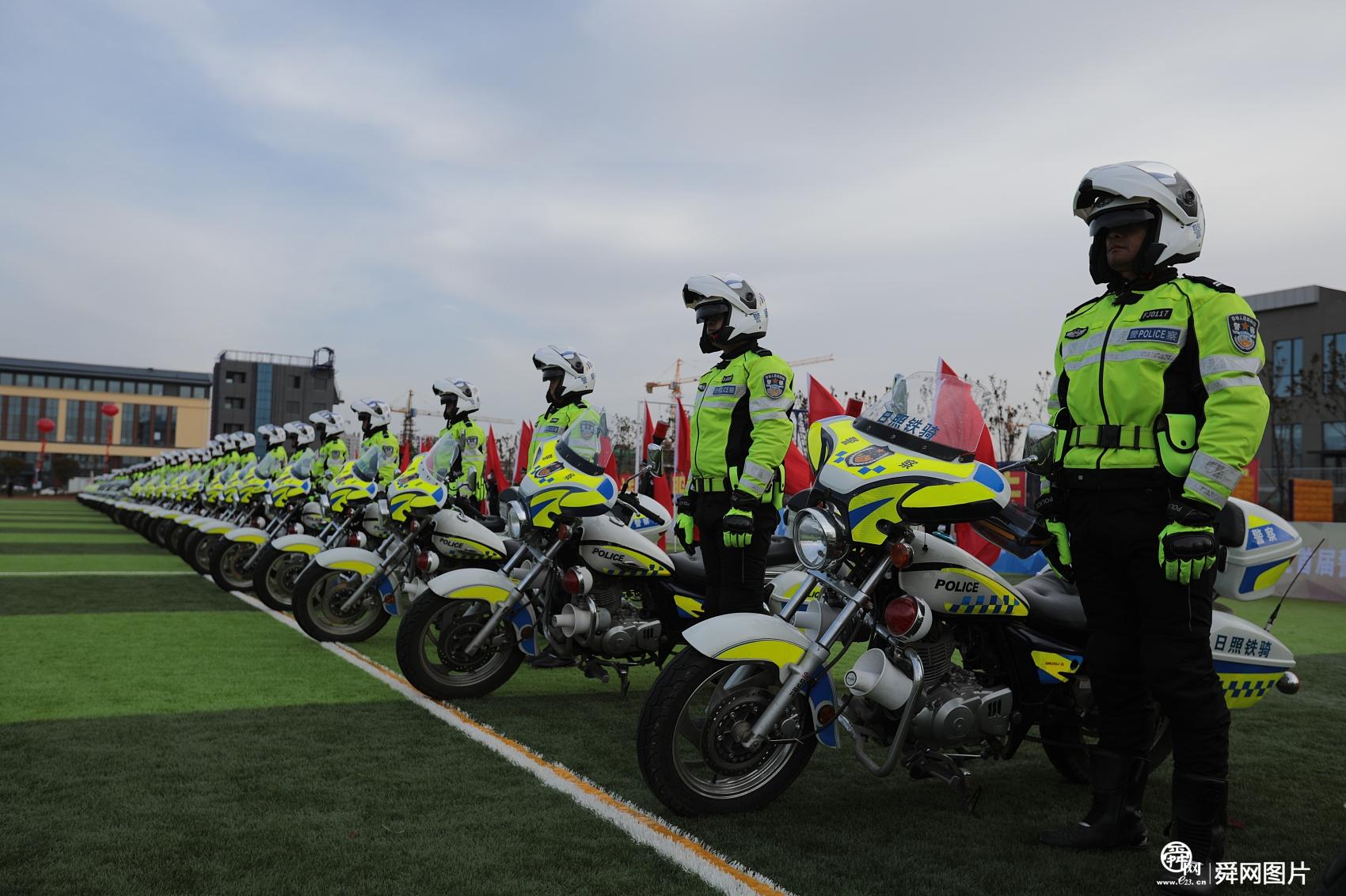 山东日照:公安系统举行全警实战大练兵 英姿飒爽展新形象