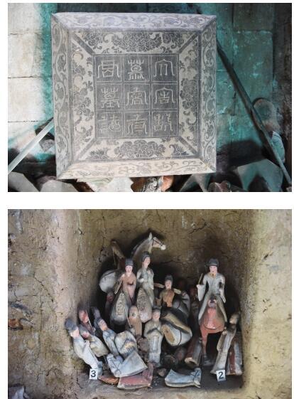 甘肃发现王族墓葬 处于三山环绕的小山岗上,东距武威市35公里