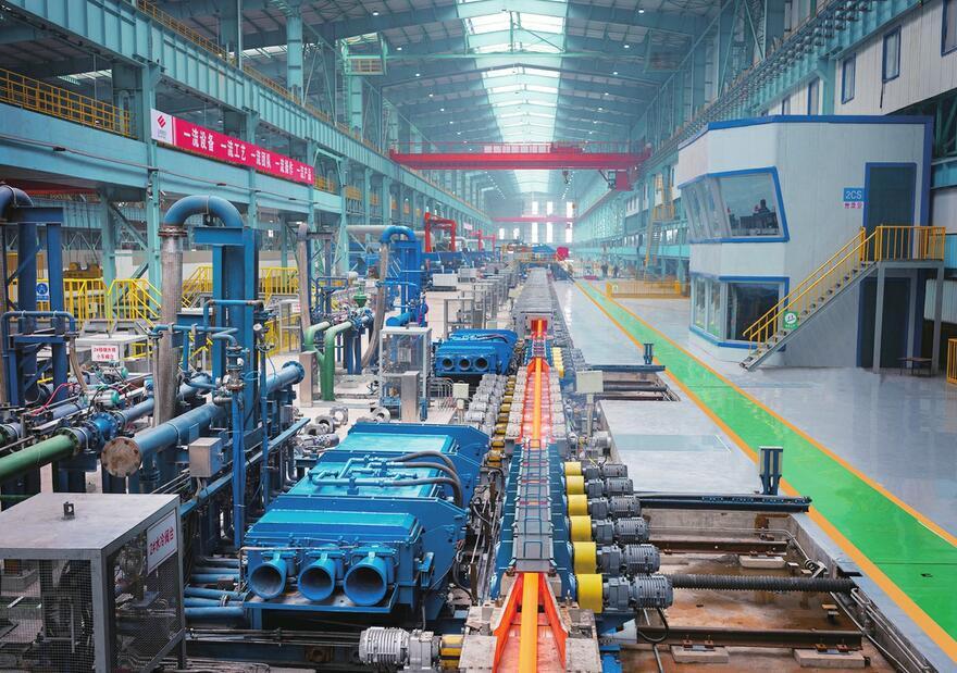 高端精品钢项目装备水平国内数一数二