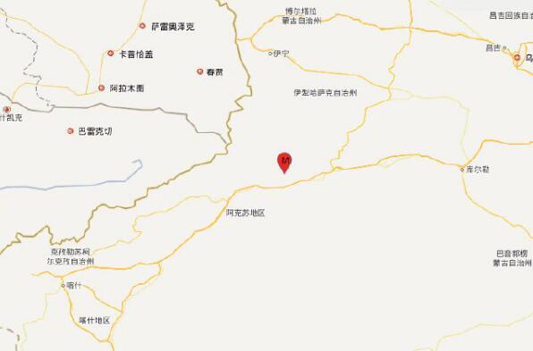 新疆阿克苏地震震级4.9级 唐山丰南4.5级地震属正常起伏活动