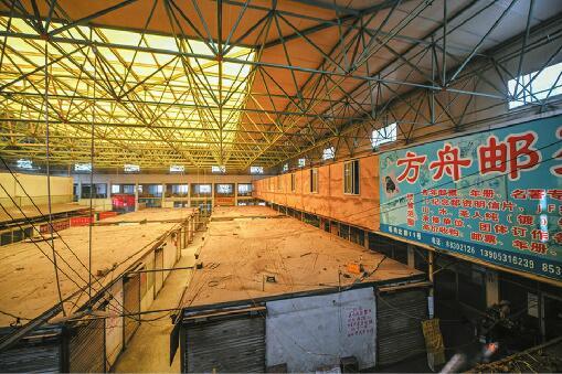 济南唯一邮票市场将搬迁