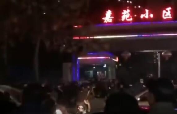 河北邯鄲持刀傷人現場圖曝光疑惑人連傷2人隱蔽住民