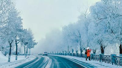 随手一拍就是大片!吉林大范围雾凇景观超级漂亮