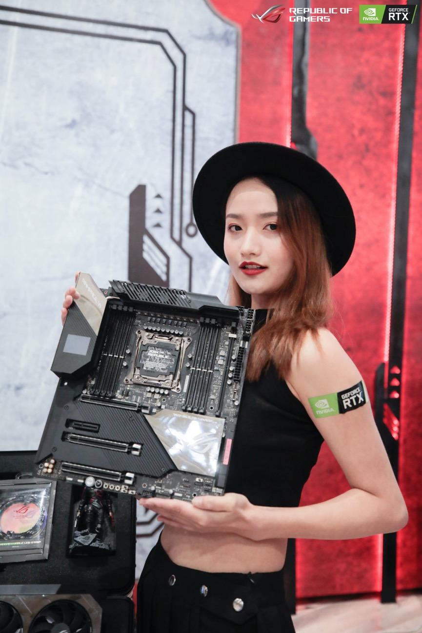 ROG DAY粉丝嘉年华 华硕电竞主板尽显实力