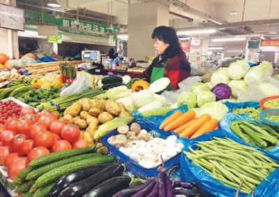 京滬渝商場問市價:豬肉價錢總體回落菜價個人起
