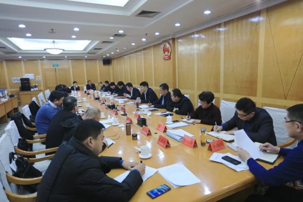 济南国际金融城产业金融集聚区历下区建设指挥部召开工作会议