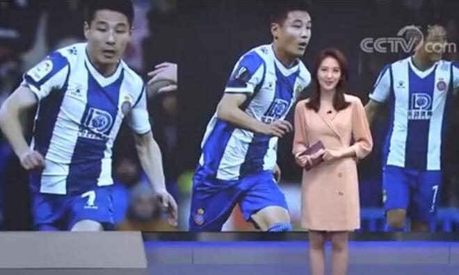 红出圈了!武磊登上电影频道 武磊破巴萨大门一球成名