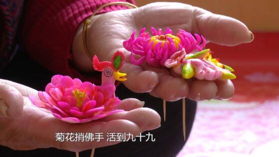 【网络述年】探寻非遗年味 胶东人餐桌上的花饽饽