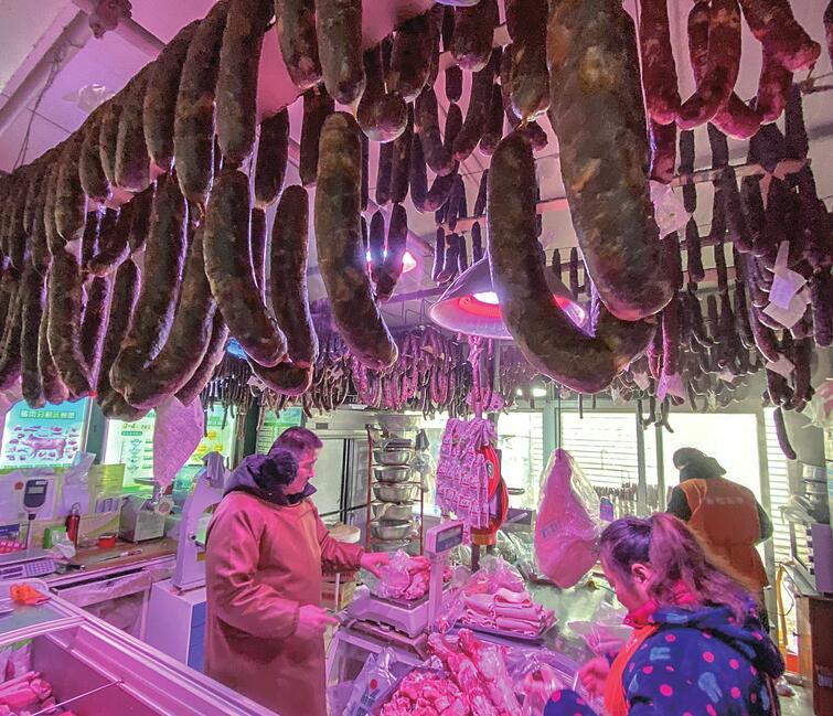 濟南:豬肉降價了 灌腸數量比1個月前增加4-5倍