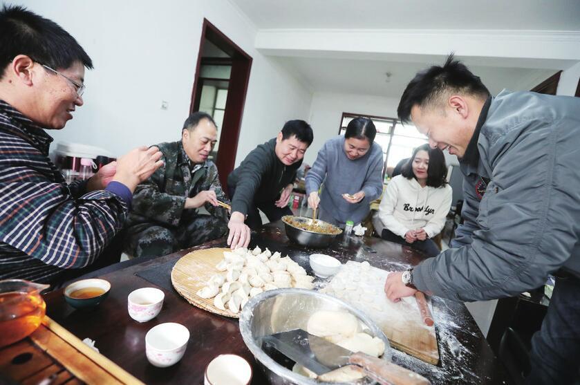 一份饺子的情怀 一种责任的坚守