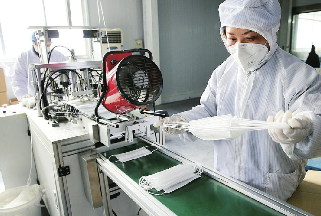 济南市防疫物资大批量投放市场 至少已投放620多万只口罩