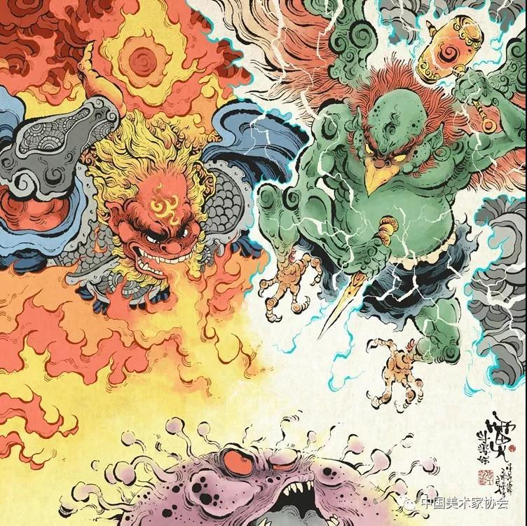 众志成城、抗击疫情——美术家在行动之漫画篇(二十四)