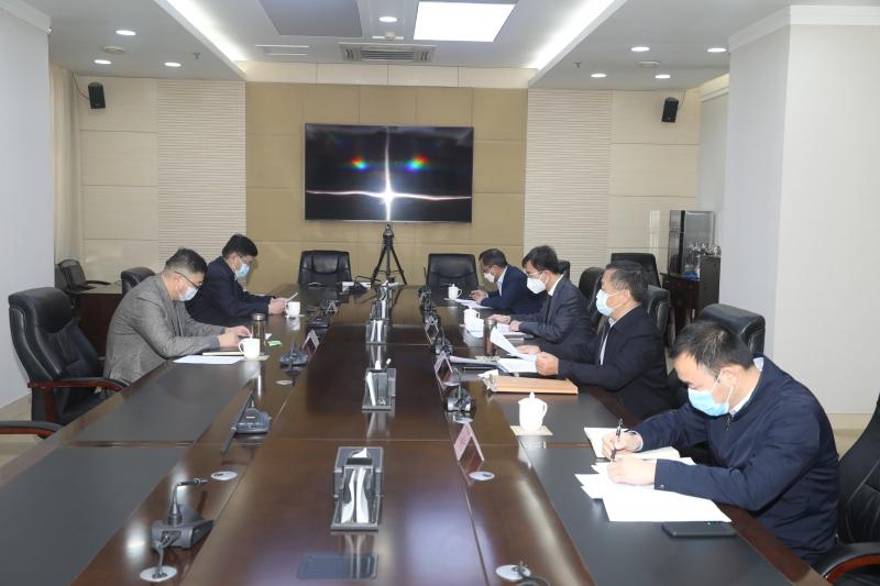江山同志主持召开疫情防控期间企业复工情况专题会议