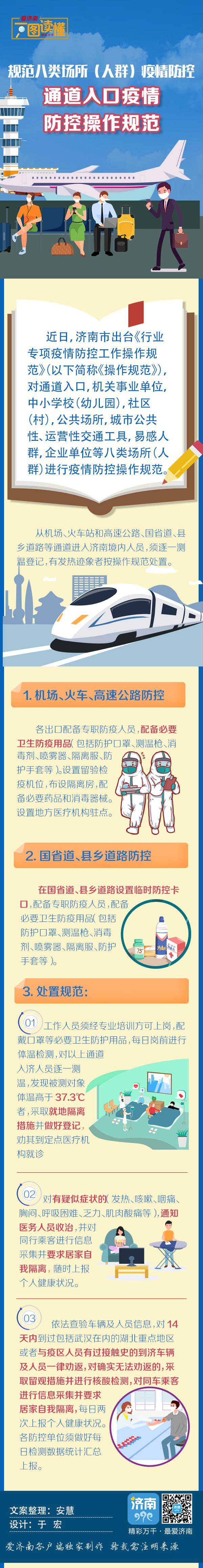 济南市规范八类场所(人群)疫情防控操作规范丨通道入口篇