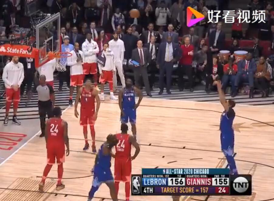 精彩绝伦!浓眉哥罚球绝杀 这届NBA全明星赛绝对是最精彩的一届