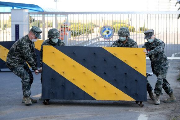韩国11名军人确诊 怀疑已出现军营内感染