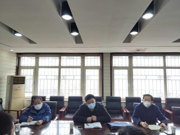 市疫情处置党建保障督导组到官扎营街道督导疫情防控工作