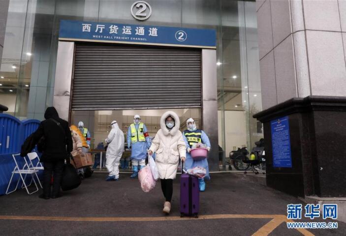 [直击] 累计收治人数最多的武汉江汉方舱医院休舱