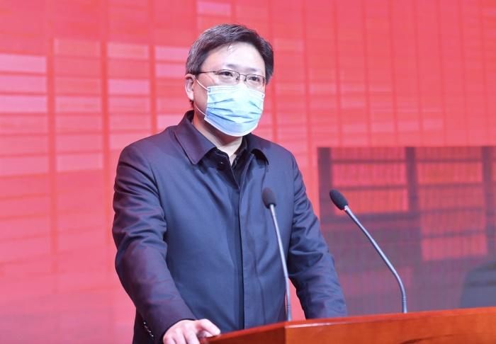 """济南市工业和信息化局副局长朱牧:""""三大行动""""助力全年任务目标实现"""