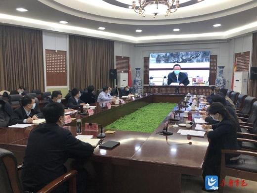 历城区组织收看市委经济运行应急保障指挥部第四次扩大会议