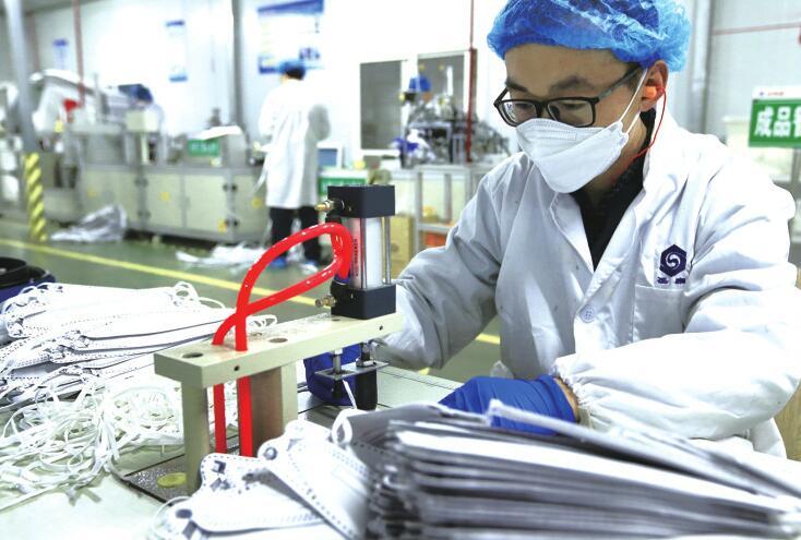 全省首位!济南口罩日产突破1000万只 两个月增长170倍 累计生产超过1亿只