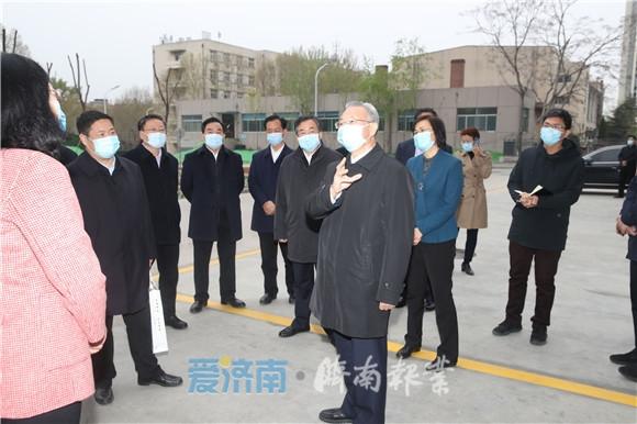 劉家義在濟南部分學校調研:精準有效抓好疫情防控 全面細致做好開學復課準備工作