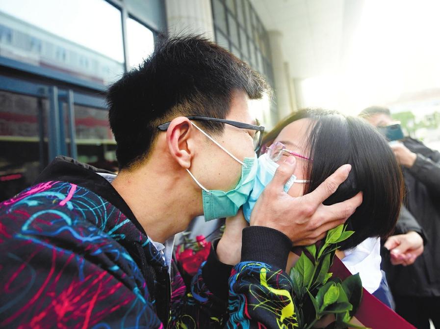 济南市第二批76名返济援鄂医疗队员解除隔离