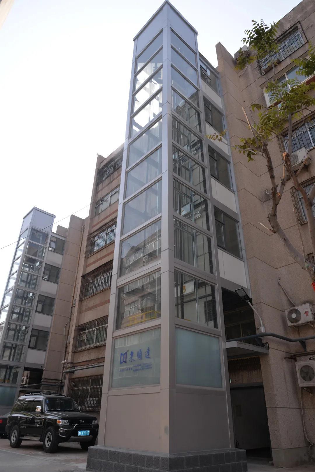 洪家楼街道举行加装电梯补贴发放仪式