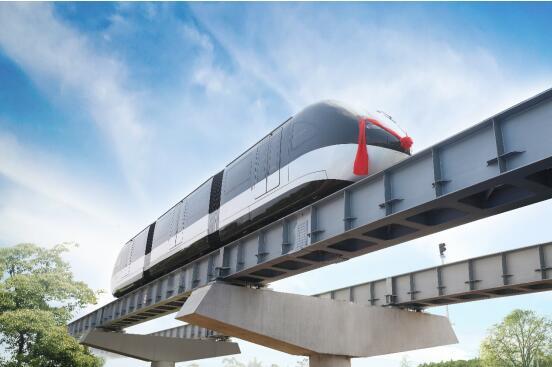开启轨道交通新时代!全球首条云巴示范线在重庆发布