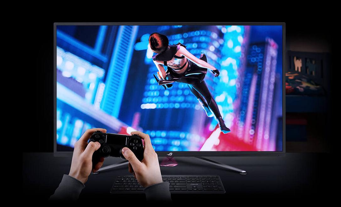 次世代主机PS5发布,4K大屏ROG XG438Q电竞显示器畅玩新体验