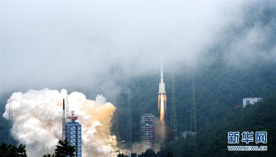 """(科技)(5)北斗三号最后一颗组网卫星""""重启""""发射成功"""