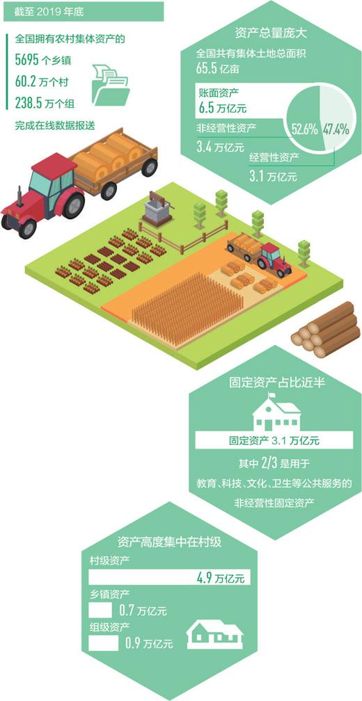 全国农村集体家底,摸清了(经济聚焦) 农村集体土地总面积65.5亿亩,账面资产6.5万亿元